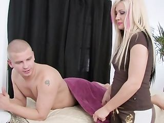Ball Licking, Big Tits, Blowjob, Couple, Cumshot, Doggystyle, Facial, Fake Tits, Hardcore, Long Hair,