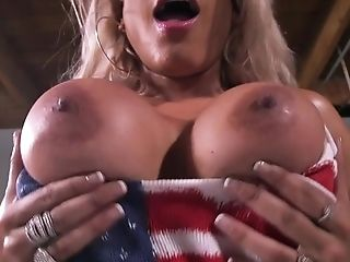 Big boobs blondie delights with stiff cock in her wet ass