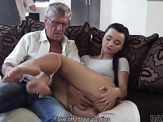 Erica will never forget hot sex with dad of her boyfriend