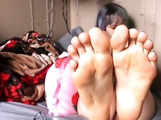 showing you my soles toes ass and tongue