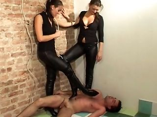 Boots, Facesitting, Femdom, HD, Mistress, Russian, Submissive, Wet,