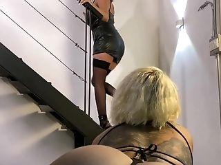 Femdom - Mistress @KarenCastell7 Dominating AgataRuiz - Facesitting Orgasm - Full Video in Comments