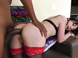 Charlotte Sartre wants to be plowed by a black hunk up her ass