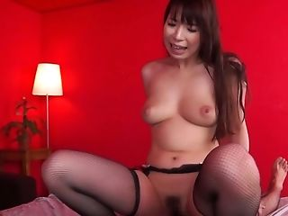 Mio Kayama is a hot Japanese woman who loves bouncing on a dick