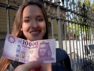 Amateur, Amirah Adara, Babe, Blowjob, European, Hungarian, Money, Pick Up, POV, Public,