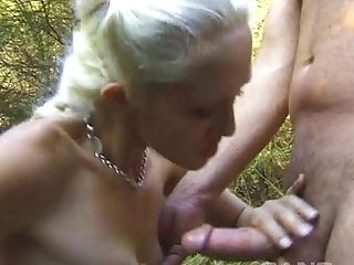 Cute blonde with a braid Alana Evans gets undressed and fucked
