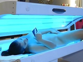 Girl wants to get some tan but ends up getting something else