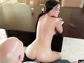 Johnny Sins wants to fuck glamorous Rahyndee Jamess hot mouth forever