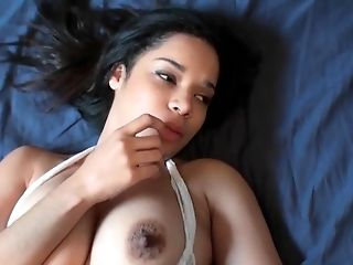 Horny Mom Displays Her Swollen Jugs & Nipples