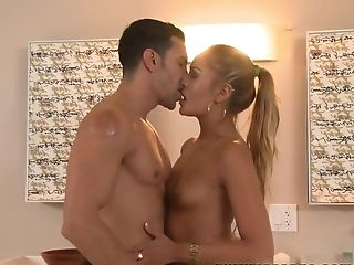 Horny pornstars Marco Rivera, Natalia Robles in Incredible Blonde, HD sex movie