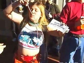 These sluts love walking in skimpy clothing in public and they love their tits