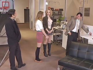 Group of horny girls likes to fuck more than anything else
