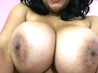 Closeup amateur video of busty Danica Collins playing with her cunt