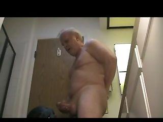 Grandpa gets blown