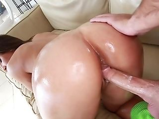 Crazy couch fuck in POV with big booty Abella Danger