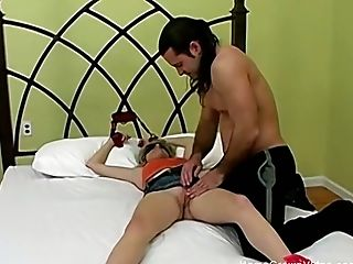 Candace Begs For His Rock Hard Cock